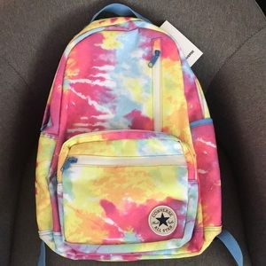 NWT Converse All Star Tie Dye Backpack